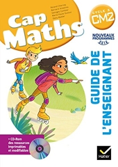 CAP Maths CM2 Éd. 2017 - Guide pédagogique + CD-Rom de Roland Charnay