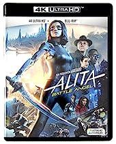 Alita - Battle Angel 4K UHD [Blu-Ray] [Region Free] (Audio français. Sous-titres français)