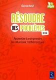 Résoudre des problèmes (Fichier + CD-Rom) - Retz - 24/04/2014