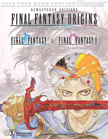Final Fantasy Origins Official Strategy Guide, Brady Games