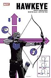 Hawkeye par Fraction et Aja de Matt Fraction