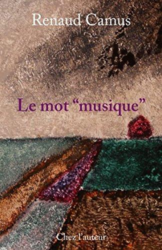 """Le mot """"musique"""""""