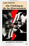 De l'éthique de la discussion - Cerf - 23/09/1992