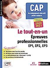 CAP Accompagnant Éducatif Petite enfance Tout-en-un - Épreuves professionnelles - 2020-2021 de Louisa Rebih-Jouhet