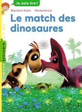 Le match des dinosaures de Blandine Aubin