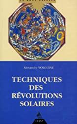 Techniques des révolutions solaires d'Alexandre Volguine