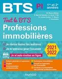 Tout le BTS Professions immobilières - 2021-2022 - 1re Et 2e Années
