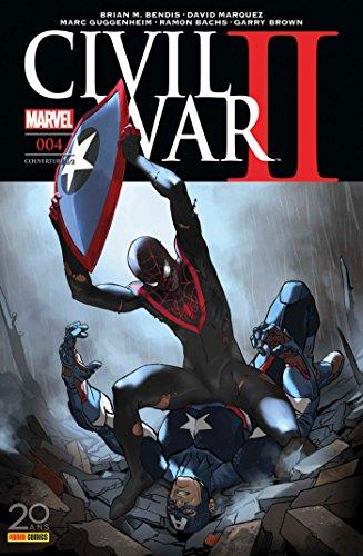 Civil War II n°4 (couverture 1/2)