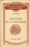 Discours de la méthode - Paris: Larousse 1934. (Classiques Larousse)