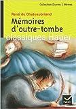 Mémoires d'outre-tombe de F. Moyal ( 1 avril 2004 ) - Hatier Parascolaire (1 avril 2004)