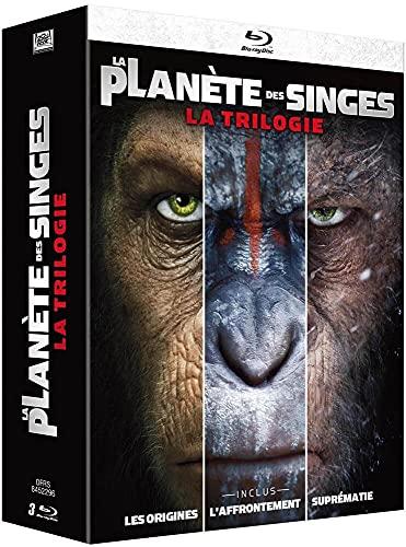 La Planète des Singes-Intégrale-3 Films [Blu-Ray]