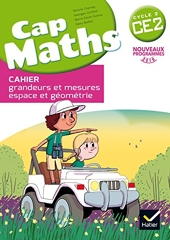 Cap Maths CE2 éd. 2016 - Cahier de géométrie et mesure de Roland Charnay