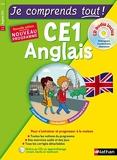 Je comprends tout ! Anglais CE1 + CD Audio inclus - Cours + exercices + audio - Je comprends tout - conforme au programme de CE1