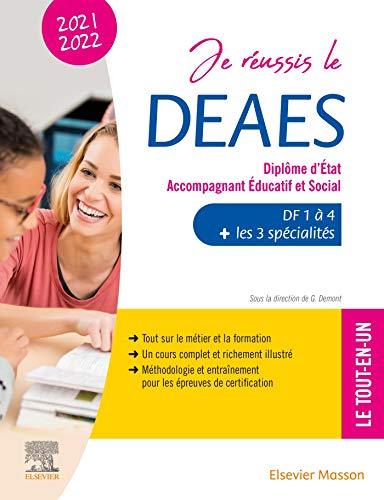 Je réussis le DEAES - Diplôme d'État Accompagnant Éducatif et Social - 2021-2022