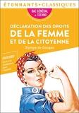 Déclaration des droits de la femme et de la citoyenne - PROGRAMME NOUVEAU BAC 1re - Parcours « Écrire et combattre pour l'égalité »