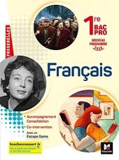 Passerelles - FRANCAIS 1re bac pro - Ed. 2020 - Livre élève de Michèle Sendre-Haïdar