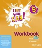 I Bet You Can! Anglais 5e (2018) Workbook (2018)