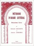 Méthode d'arabe littéral, tome 2