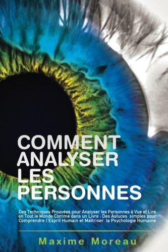 Comment Analyser les Personnes