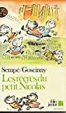 Les Recres Du Petit Nicolas - Gallimard - 15/11/2001