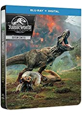 Jurassic World - Fallen Kingdom [Édition SteelBook Blu-Ray + Digital]