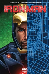 Iron-man marvel now - Tome 02 de Gillen-K+Land-G