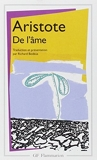 De L'ame (French Edition) by Aristote(1995-01-01) - Editions Flammarion - 01/01/1995