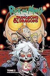 Rick & Morty Vs - Dungeons & Dragons Tome 2 - Peinescape de Jim Zub