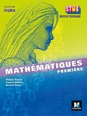 Mathématiques 1e Stmg de Bernard Verlant