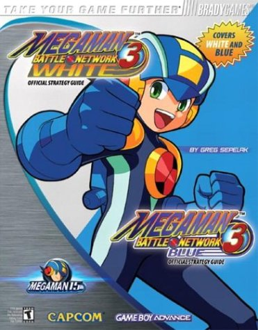 Mega Man Battle Network? 3 Blue & White Official Strategy Guide