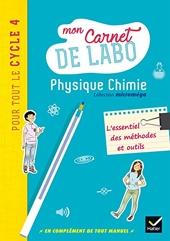 Microméga - Physique-Chimie Cycle 4 Éd. 2017 - Mon carnet de labo de Christophe Daujean