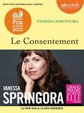 Le Consentement - Livre audio 1 CD MP3 - Suivi d'un entretien avec l'autrice - Audiolib - 10/06/2020