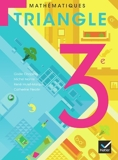 Triangle Mathématiques 3e éd. 2012 - Manuel de l'élève (format compact) by Michel Mante (2012-05-16) - Hatier - 16/05/2012