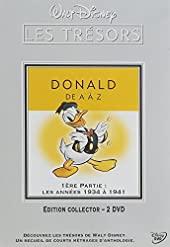 Donald de A à Z-1ère Partie - Les années 1934 à 1941 [Édition Collector-2 DVD]