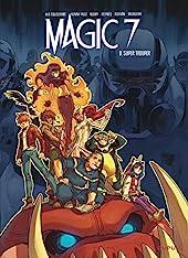 Magic 7 - Tome 8 - Super Trouper de Kid Toussaint