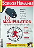 Sciences Humaines N 287 la Manipulation Novembre 2016