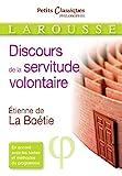 Le discours de la servitude volontaire - Larousse - 27/08/2014