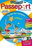 Passeport Cahier de Vacances 2020 - Toutes les matières du CM1 au CM2 - 9/10 ans - Hachette Éducation - 09/05/2019