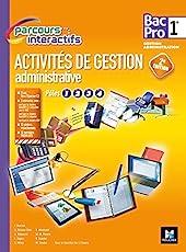 Parcours Interactifs - Activités de gestion administrative - 1re BAC PRO GA - Manuel élève de Joëlle Chapey