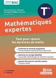 Enseignement optionnel mathématiques expertes terminale - Cours et exercices corrigés basés sur le nouveau programme officiel enseignement optionnel maths expertes Tle
