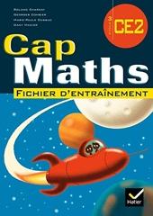 Cap Maths CE2 édition 2008, fichier élève (NON VENDU SEUL) Compose le 9653452 de Roland Charnay