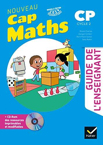 CAP MATHS CP Ed. 2019 Guide pédagogique + CD Rom