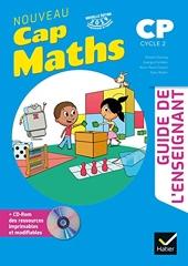 CAP MATHS CP Ed. 2019 Guide pédagogique + CD Rom de Roland Charnay