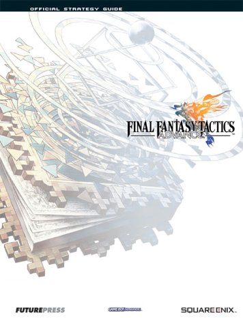 Final Fantasy Tactics Advance, Official Strategy Guide