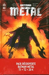 Pack découverte Batman Métal T1 + T2 offert de Greg Capullo