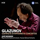Glazounov - Intégrale des Symphonies & Concertos