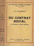 Du contrat social - Ernest Flammarion