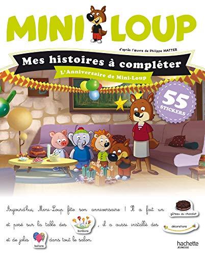 Mini-Loup Mes histoires à compléter