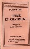 Crime et châtiment - Fouraut