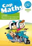 Cap Maths CE1 éd. 2016 - Cahier grandeurs et mesures, espace et géométrie by Roland Charnay (2016-02-24) - Hatier - 24/02/2016